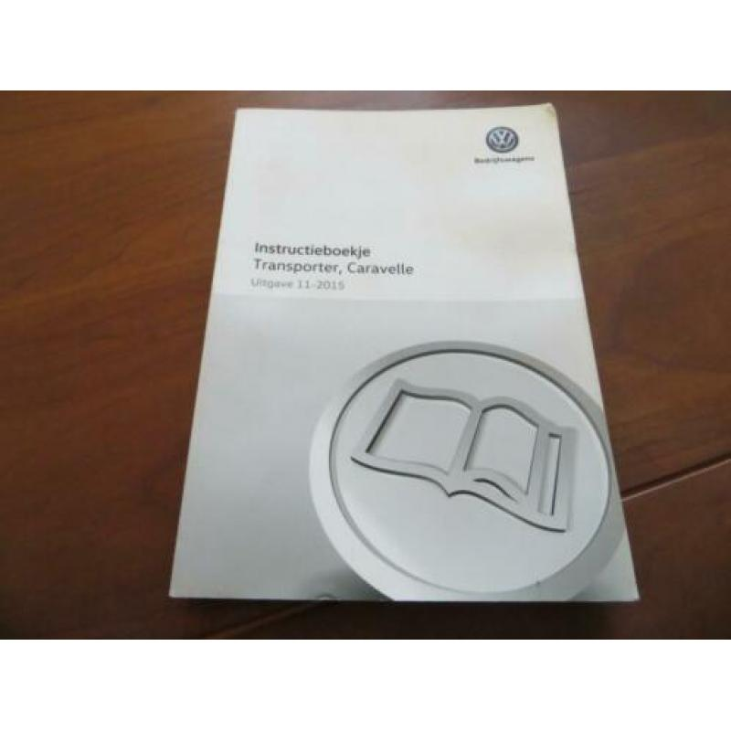 Instructieboek Volkswagen Transporter, VW Caravelle 2015